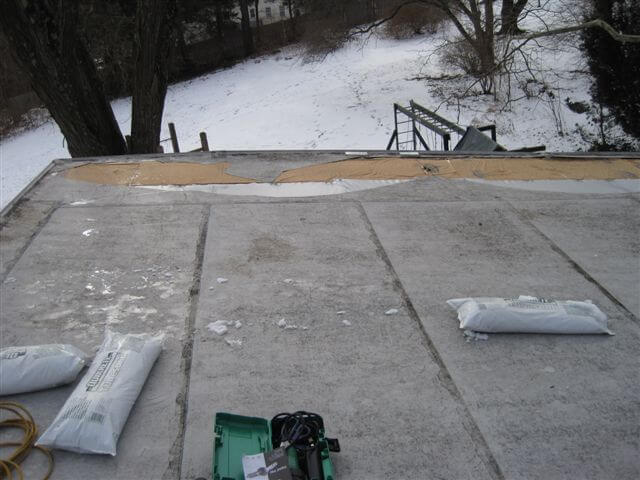 Trocal PVC Roof Repair in West Hartford, CT