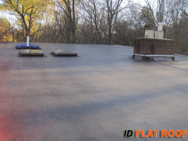 PVC Roof Installation in Weston, MA - IB Roof