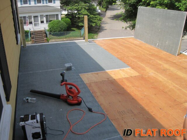 East Granby CT PVC Deck Installation