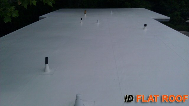 West Hartford CT PVC Roofing