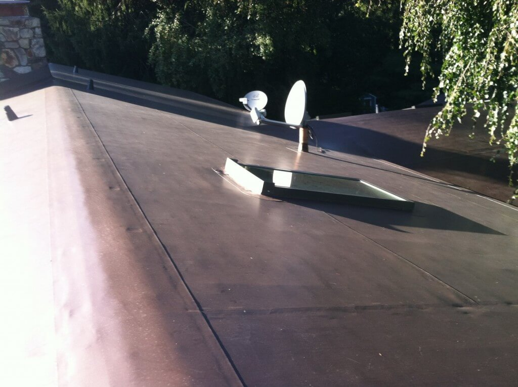 PVC Low Pitch Roof Installation, Newton, MA